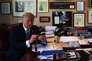 Donald Trump sostituisce il suo vecchio smartphone Android con un iPhone
