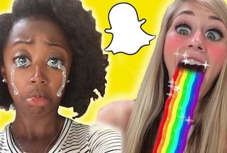 Snapchat, ecco i 10 filtri più popolari del 2016