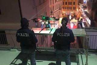 Sanremo, c'è un drone (italiano) che sorveglia dall'alto il teatro Ariston