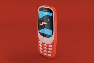 """Il """"nuovo"""" Nokia 3310 arriva in Italia il 25 maggio a 60 euro"""