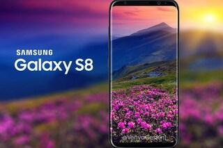Samsung anticipa Apple sullo schermo: ecco il Galaxy S8
