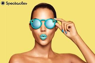 Snapchat: al via la vendita online degli occhiali Spectacles