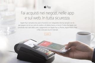 Apple Pay arriva ufficialmente in Italia: i pagamenti con l'iPhone sono realtà