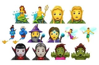 Maghi, vampiri, androgini e hijab: 69 nuove emoji in arrivo