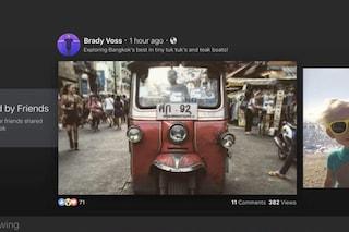 Facebook Video, disponibile per il download la nuova app per Apple TV