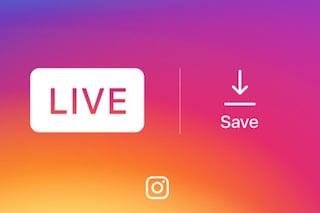 Instagram introduce la possibilità di salvare i video in diretta