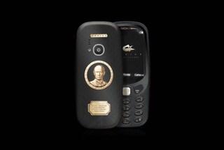 """Il Nokia 3310 """"Supremo Putin"""" è d'oro e costa 1.600 euro"""