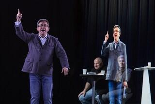 Un candidato alle presidenziali francesi ha usato gli ologrammi per parlare in 7 città in contemporanea