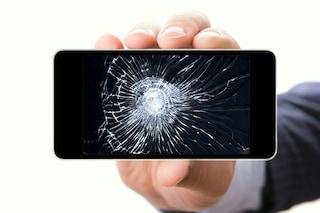 Lo smartphone con il display che si ripara da solo