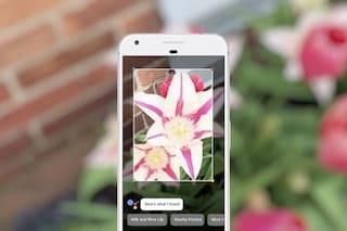 Google I/O, con Lens lo smartphone riconosce qualsiasi oggetto inquadrato con la fotocamera