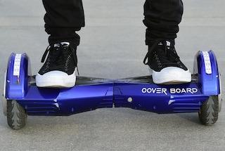 Trento, 1.200 euro di multa per aver utilizzato un hoverboard