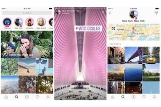 Instagram permette di scoprire nuove Storie tramite hashtag e localizzazione