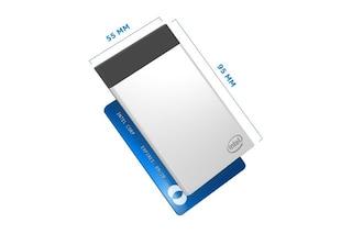 Intel Compute Card, il PC grande quanto una carta di credito