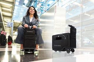 Modobag, la valigia-scooter per muoversi velocemente in aeroporto