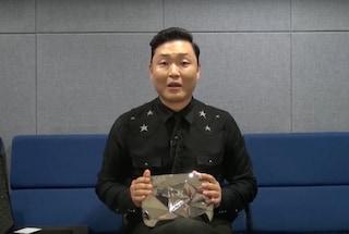 YouTube, PSY ha ricevuto un pulsante di diamante per aver raggiunto i 10 milioni di iscritti