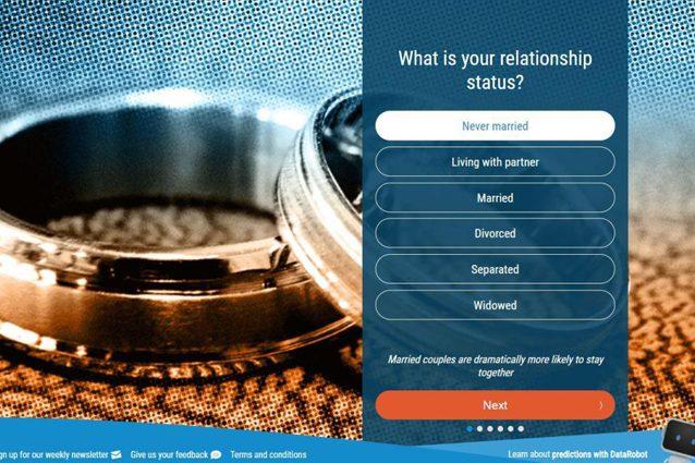 Relationships, il sito web per scoprire se la tua relazione durerà