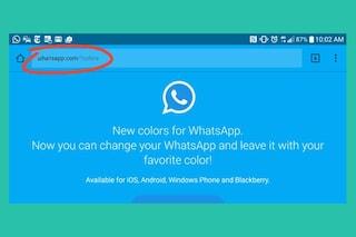 Nuovi colori per WhatsApp: attenzione alla truffa