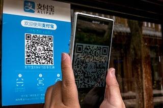 In Cina alcuni mendicanti raccolgono le elemosine attraverso un QR code