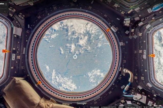 Interni Di Design Quasi Spaziale : Con google street view puoi visitare la stazione spaziale
