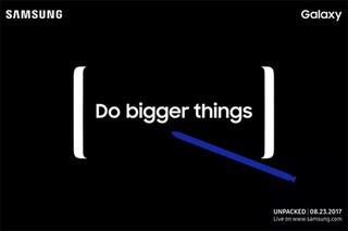 Samsung, svelata la data di presentazione del Galaxy Note 8