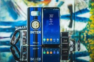 Samsung, lo speciale Galaxy S8 dedicato all'Inter