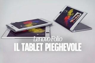 Il nuovo tablet di Lenovo si piega e diventa uno smartphone