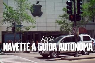 Apple sviluppa navette a guida autonoma per trasportare i suoi dipendenti