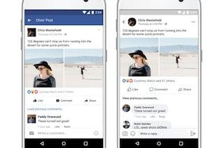 Facebook aggiorna l'app per smartphone Android e iOS: tutte le novità
