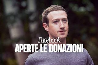 Facebook permette di effettuare donazioni per le popolazioni colpite dall'uragano Harvey