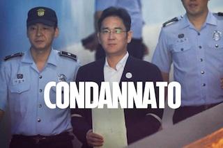 Samsung, condannato a 5 anni il vicepresidente Lee Jae-yong