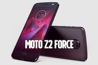 Moto Z2 Force, il top di gamma di Motorola arriva anche in Italia