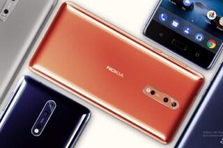 Nokia 8, il nuovo smartphone che sfida Apple e Samsung con il 'selfie doppio'