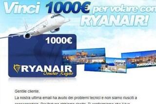 Voli gratis Ryanair, attenzione alla truffa: ecco come difendersi