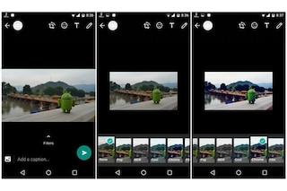 WhatsApp, in arrivo un nuovo aggiornamento per Android: tra le novità i filtri per le foto