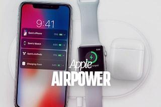 AirPower, la base di ricarica wireless per iPhone X e iPhone 8: ecco come funziona