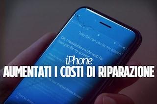 Apple aumenta i prezzi per le riparazioni degli schermi degli iPhone