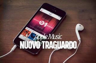 Apple Music a quota 30 milioni di abbonati
