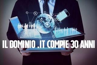 Il dominio .it compie 30 anni: 3 milioni i siti web registrati, Italia decima nel mondo