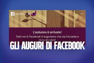 Equinozio d'autunno, Facebook celebra l'arrivo dell'Autunno