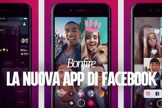 Bonfire, la nuova app di Facebook per le video chat di gruppo