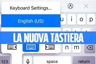 iOS 11 introduce la tastiera ad una mano per iPhone: ecco come si attiva la novità