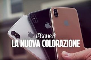 iPhone 8, in Rete spunta la foto di una nuova colorazione oro ramato