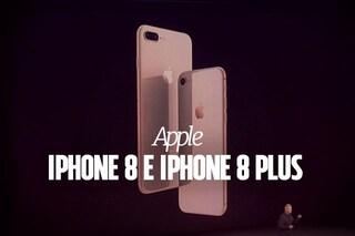 iPhone 8 e iPhone 8 Plus, presentati ufficialmente i nuovi smartphone Apple: le caratteristiche tecniche