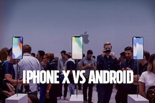 """L'iPhone X commentato da un utente Android: """"Bello, ma..."""""""