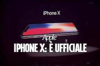 iPhone X, presentato ufficialmente lo smartphone borderless di Apple: tutte le novità