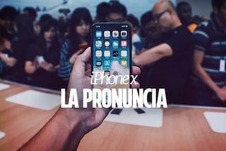 Come si pronuncia iPhone X