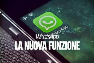 WhatsApp migliora la gestione dello spazio di archiviazione