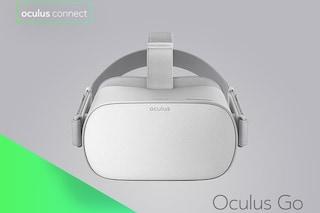 Oculus Go, il visore per la realtà virtuale che non richiede un PC (e costa poco)