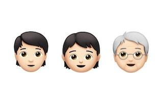 Ecco le nuove emoji androgine di Apple