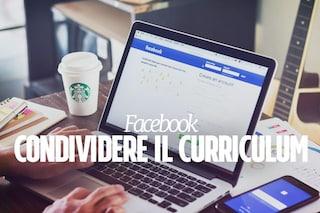 Facebook facilita la ricerca di nuovi posti di lavoro: ecco come condividere il curriculum